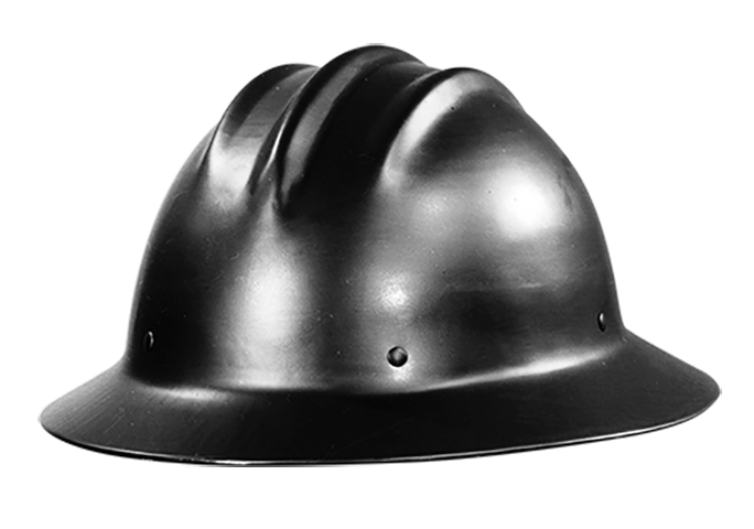 1938 first aluminum hard hat