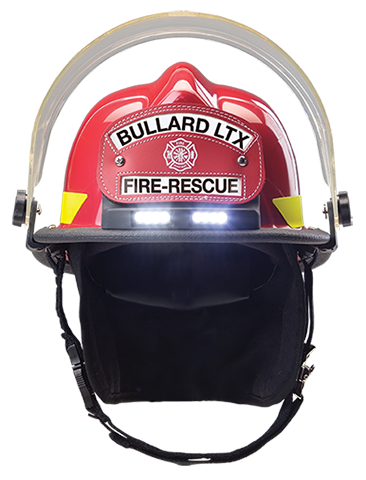 2009 Bullard introduces TrakLite®, the first integrated fire helmet lighting system